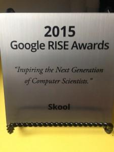 Google Awards winners